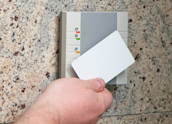 Card scanning security system