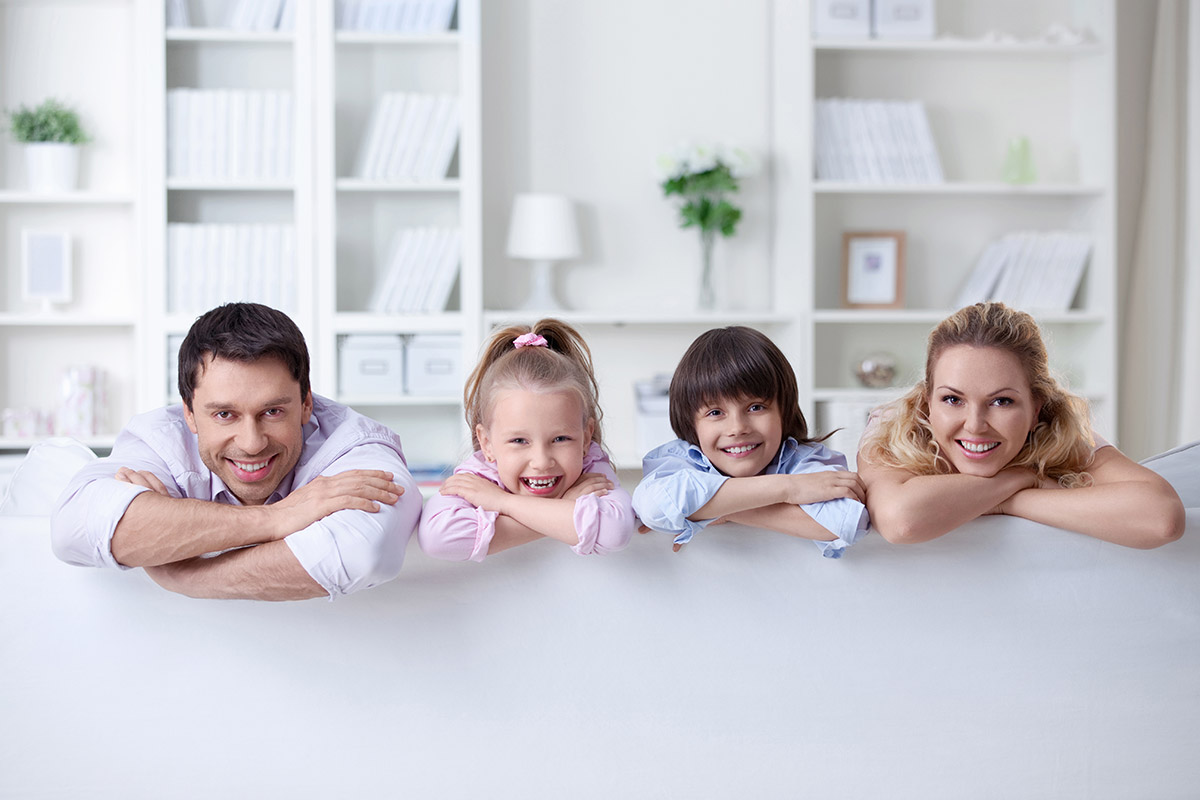 Home security in Los Angeles, CA for a happy family