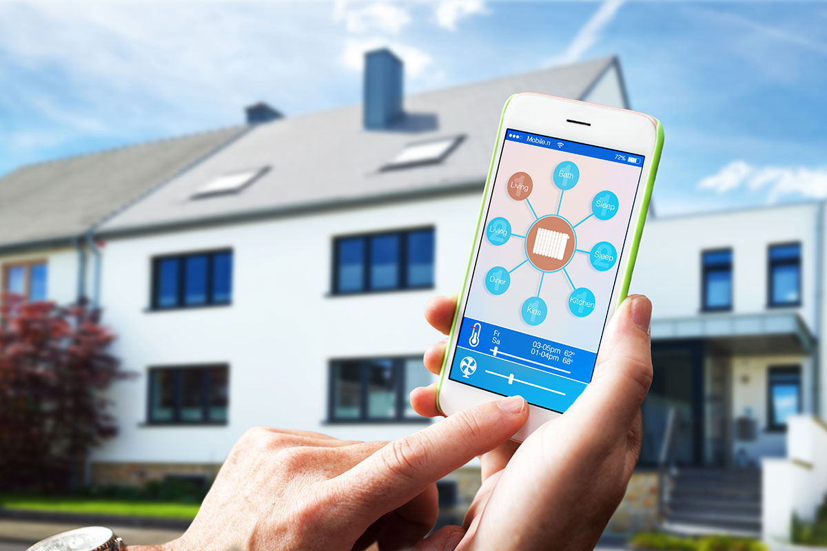 Use an app to monitor security for your home and business