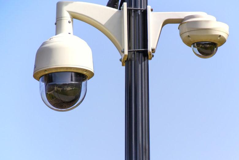 California Security Camera System, rotary camera