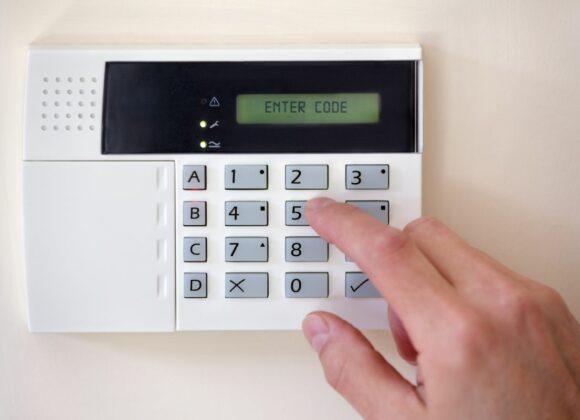 Fingers Using Burglar Alarm in Van Nuys, CA